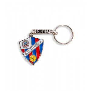 Keychain with shield SD Huesca